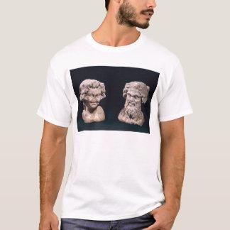 T-shirt Chef de Bacchus et satyre d'un pilier hermatic