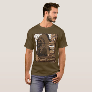 T-shirt Chef de Cheyenne de deux lunes