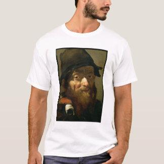 T-shirt Chef d'un vieil homme, détail de portrait d'un