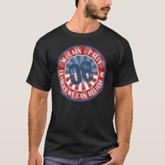 T-shirt Chefs de McCain Palin que nous pouvons croire