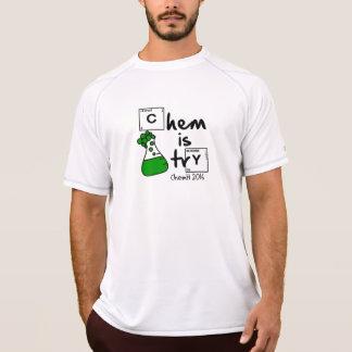 T-shirt Chem est logo d'Erlenmeyer d'essai