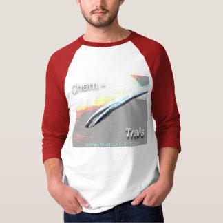 "T-shirt Chem-Traînées/""demi-tour ! """
