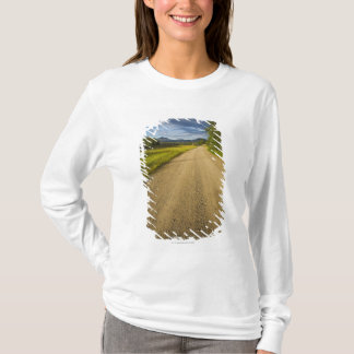 T-shirt Chemin de terre dans Eagle, Alaska