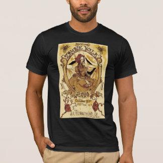 T-shirt chemise 2010 d'affiche de promenade de zombi de