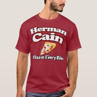 T-shirt Chemise 2012 de pizza de Herman Caïn