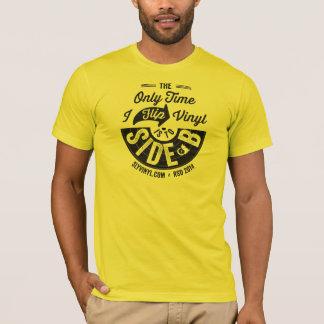 T-shirt Chemise 2014 de jour de magasin de disque de