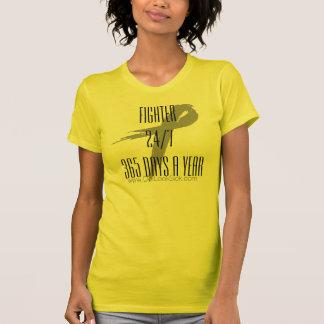 T-shirt Chemise 24/7 365 de ruban de conscience de