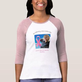 T-shirt Chemise 2 de cancer du sein de Laurie Ann