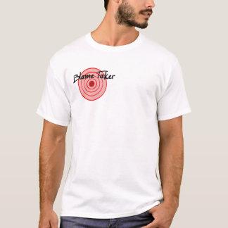 T-shirt Chemise 2 de preneur de blâme dégrossie (de cible