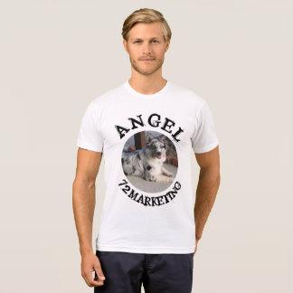 T-shirt chemise 72marketing de chien d'ange