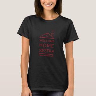 T-shirt Chemise à la maison bienvenue de Sestra