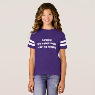 T-shirt Chemise à l'envers croulante d'appui renversé de