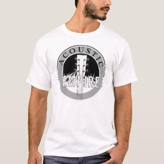 T-shirt Chemise acoustique de logo d'empire