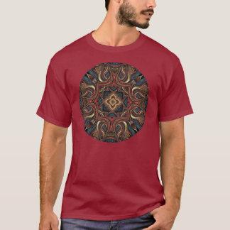 T-shirt Chemise acrylique d'art de mandala de vision