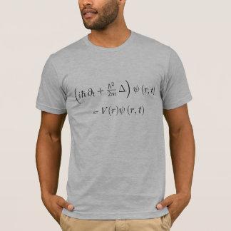 T-shirt Chemise adaptée : Équation d'ondes de Schrodinger,