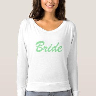 T-shirt Chemise adorable de jeune mariée