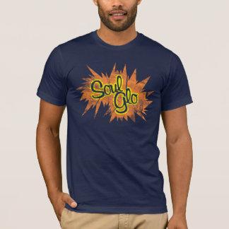 T-shirt Chemise affligée par souffle de Glo d'âme