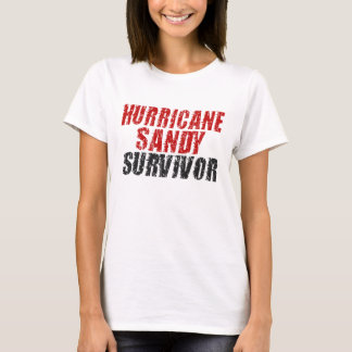 T-shirt Chemise affligée par survivant de Sandy d'ouragan