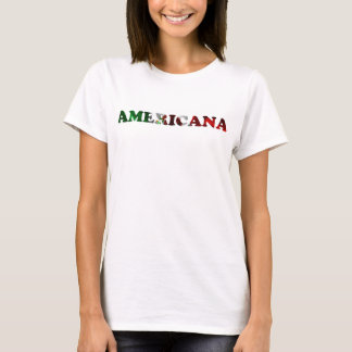 T-shirt Chemise americana