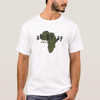 """T-shirt Chemise amharique éthiopienne de """"papa"""""""