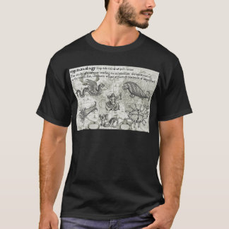 T-shirt Chemise antique de Cryptozoology
