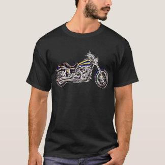 T-shirt Chemise au néon de moto