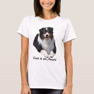 T-shirt Chemise australienne de dames de gardien de berger