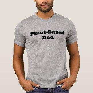 T-shirt Chemise Basée sur Plante de papa