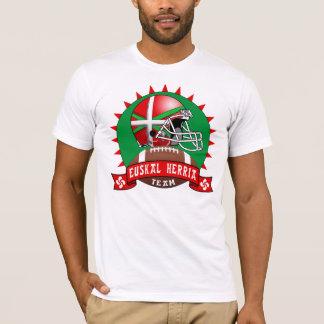 T-shirt Chemise Basque du football