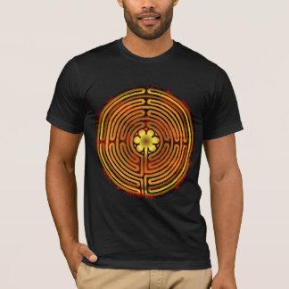 T-shirt Chemise bilatérale du feu de labyrinthe de
