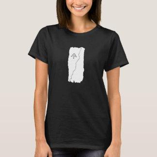 T-shirt Chemise blanche de flamme