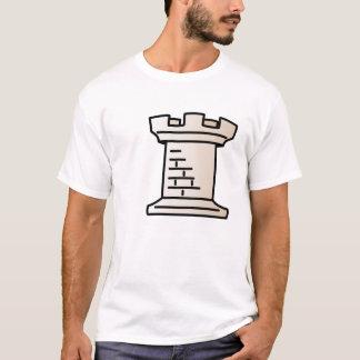 T-shirt Chemise blanche de freux d'échecs
