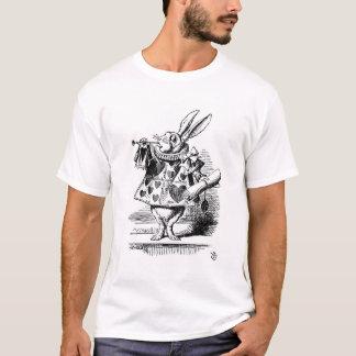 T-shirt Chemise blanche de lapin