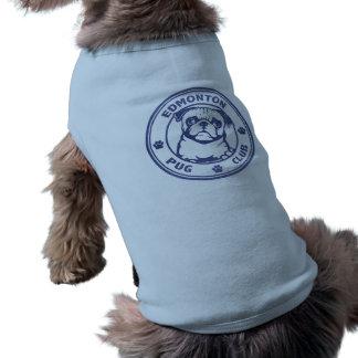 T-shirt Chemise bleue de chien