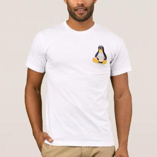 T-shirt Chemise brillante de pingouin de Tux Linux