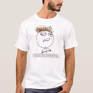 T-shirt Chemise bue admise par défi