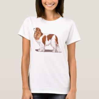 T-shirt Chemise cavalière d'épagneul de roi Charles