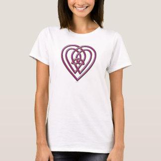 T-shirt Chemise celtique de coeur
