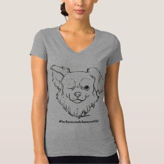 T-shirt Chemise chanceuse de femmes