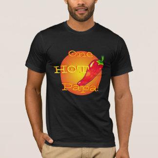 T-shirt Chemise chaude de papa