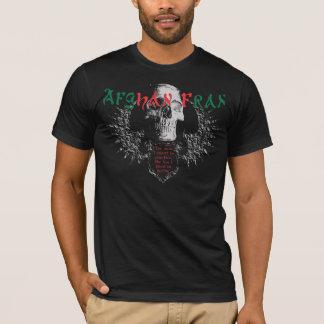 T-shirt Chemise Chemise-Foncée de Fran d'Afghan original