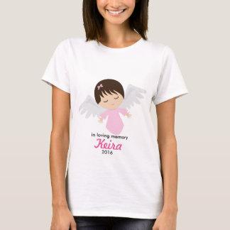 T-shirt Chemise commémorative d'ange de bébé - perte de