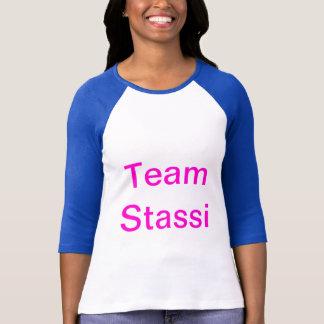 T-shirt Chemise confortable de base-ball de douille de