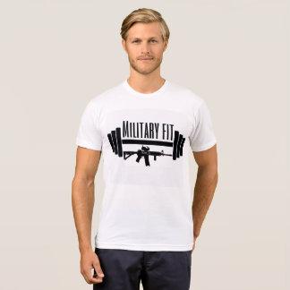 T-shirt Chemise convenable de militaires