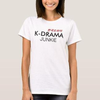 T-shirt Chemise coréenne de drogué de drame