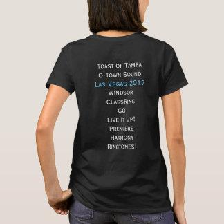 T-shirt Chemise côtière de Las Vegas de la région 9