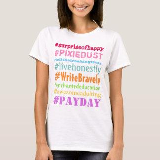 T-shirt Chemise courageuse de Hashtag d'auteur