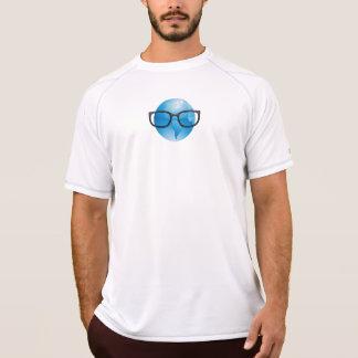 T-shirt Chemise courante de course du troupeau nerd