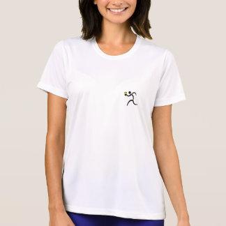 T-shirt Chemise courante de la technologie de la femme