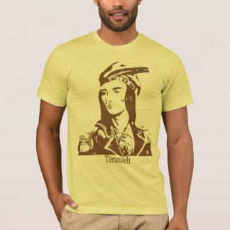 T-shirt Chemise courte de douille de Tecumseh des hommes